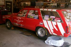 Ford: Fairmont RACE Photo