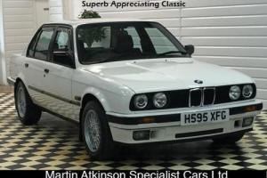 1990 BMW E30 320i Auto 4dr in Alpine White only 77k, Appreciating Classic