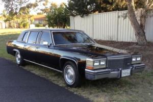 1983 Cadillac Fleetwood Series 75 Limo Caddy Limousine V8 Luxury 6 0L V 8 6 4