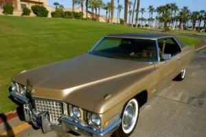 1971 Cadillac Coupe Deville Survivor 2 Owner CAR Price Drop in WA
