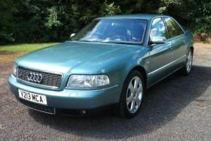 !STUNNING VERY RARE 1999 AUDI S8 QUATTRO,ONLY 1 ELDERLY OWNER WITH JUST 69,000!!