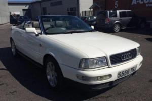 Audi 80 Convertible 2.6 V6 CONVERTIBLE 1998 S Reg Petrol