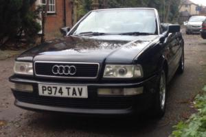 Audi 80 2.8 V6 Cabriolet / Convertible Manual / Metallic Black / 1997 / Rare Car