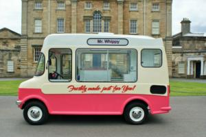 Vintage Bedford Ice Cream Van