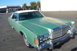 1975 Chrysler NEW Yorker Brougham 4 Door Hardtop Beautiful Totally Orig CAR