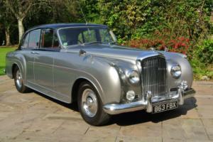 "1957 BENTLEY S1 MULLINER ""Continental"" 6 light aluminium special saloon 1of 27"