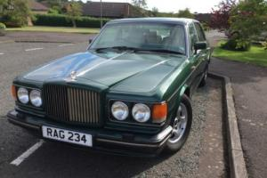 1989 BENTLEY TURBO R RED LABLE