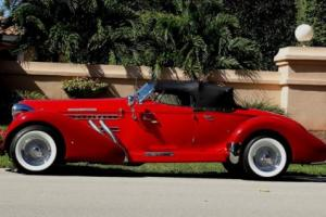 1978 Other Makes AUBURN REPLICA 1938 AUBURN BOAT TAIL SPEEDSTER REPLICA