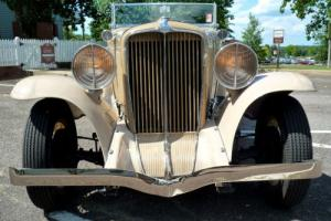 1931 Other Makes Auburn 8-98A Custom Convertible Coupe