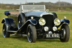 1930 Bentley Speed Six Long Chassis Vanden Plas style Tourer