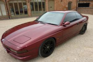 BMW 850I V12 AUTO 1993 FINISHED IN METALLIC CALYPSO RED SCHNITZER TOTAL GREY INT