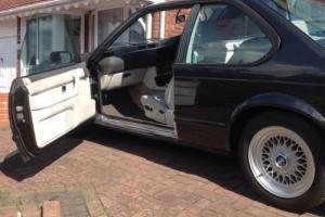 1989 BMW 635 CSI AUTO BLACK