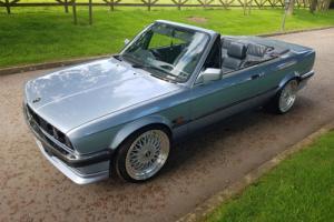 BMW e30 convertible...M54 b30 converted...stuning! NO RESERVE