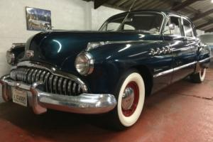 1949 BUICK ROADMASTER. STUNNING 38,000 MILES CALIFORNIA FRESH