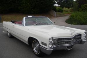 1965 (C) Cadillac DeVille Convertible 429 White Rare Car £12995