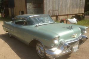 1957 cadillac coupe de ville rock solid california car price reduced