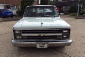 1984 Chevrolet c10 step side pick up