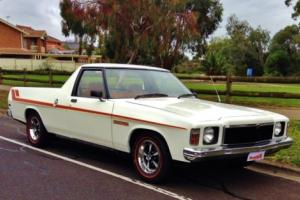 Holden HQ HJ HX HZ Sandman UTE ''Tribute'' HP 202 6CYL Imaculate in VIC Photo