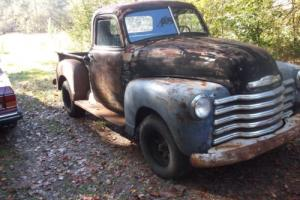 chevy pick up 1950 patina