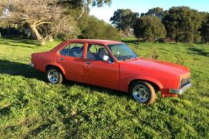 Holden Torana LH Gpak 3 75 Manderine RED Unfinished Project CAR Photo