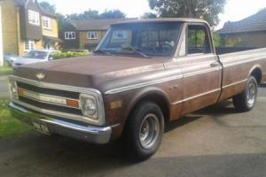 1970 CHEVY C10 PICK UP TRUCK , HOTROD, 350ci / TH350 P/X NOW SOLD NOW SOLD