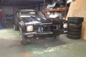 1972 CHEVROLET MONTE CARLO, BODY FULLY SORTED, NO ENGINE/BOX OTHERWISE ALL THERE