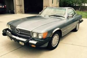 Mercedes 560SL SL Convertible 1986 LHD Classic Collectable Benz Sports CAR AMG