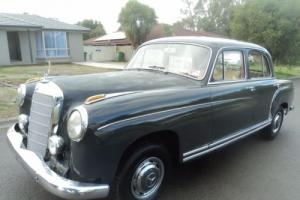 Mercedes Benz 220s 1958 W180 4SPD Manual Twin Carb BMW Audi Saab Alfa VW Jaguar in VIC
