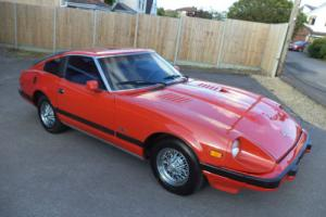 DATSUN 280ZX 2.8 AUTO 2 SEATER COUPE(1982) RED! 280Z CHEAPEST IN UK! EXC PROJECT