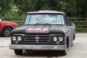 1963 Dodge Pick Up Project Custom Hot Rod Rat Truck