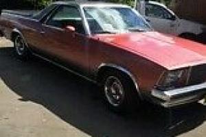 1979 Chevrolet EL Camino UTE 3 8L Auto NOT Chev Pontiac Chevrolet Camaro Mustang in NSW