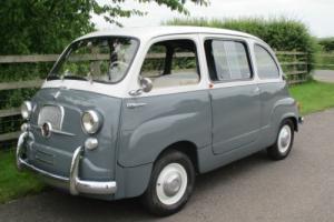 Fiat 600D-Multipla -super rare 6 seater-fully restored