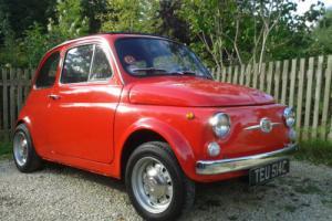 1965 classic Fiat 500