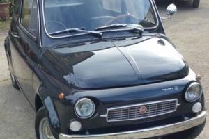 "1971 Classic Fiat 500F Limited Edition ""Francis Lombardi My Car"" RARE"
