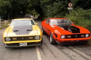 1972 + 1971 Mustang Mach 1 Rare Cobra Jets £10950 + £24500