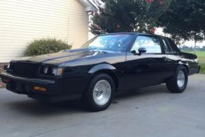 1987 Buick Regal Turbo T WE4