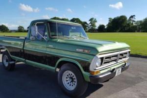 1972 Ford F250 pick up truck,390ci,v8,4speed manual, ps&pb.mot