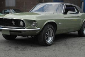 1969 Mustang Coupe 302 - Low Mileage