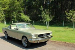 1966 FORD MUSTANG 289 FASTBACK