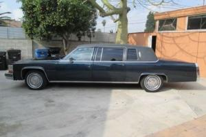 1980 Cadillac Fleetwood limousine