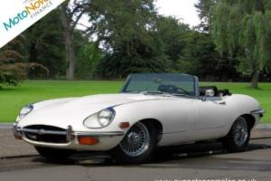 JAGUAR E-TYPE Series 2, White, Manual, Petrol, 1970