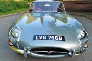 Jaguar E Type 3.8 Series One Fixed Head Coupe. Photo