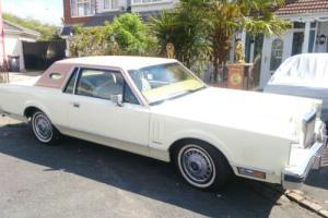 1982 LINCOLN WHITE VI MARK 6