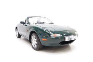 An Original UK Mk1 Mazda MX5 1.8iS with Just 34,934 Miles and Two Owners. Photo
