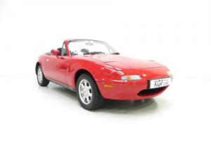 An Amazing UK Mk1 Mazda MX5 with Just 12,678 Miles and One Owner from New.