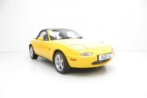 A Limited Edition UK Mk1 Mazda MX5 California as Featured in the James Mann Book