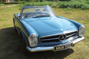 mercedes classic w113 1968 Pagoda 280sl