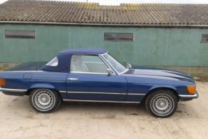 MERCEDES SL R107 450SL 1973 WITH NEW 12 MONTHS MOT REDUCED