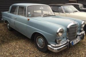1961 Mercedes 190 C Fintail