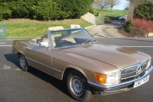 1984 Mercedes-Benz 280SL Sports R107 Rare Manual Superb Condition £11995